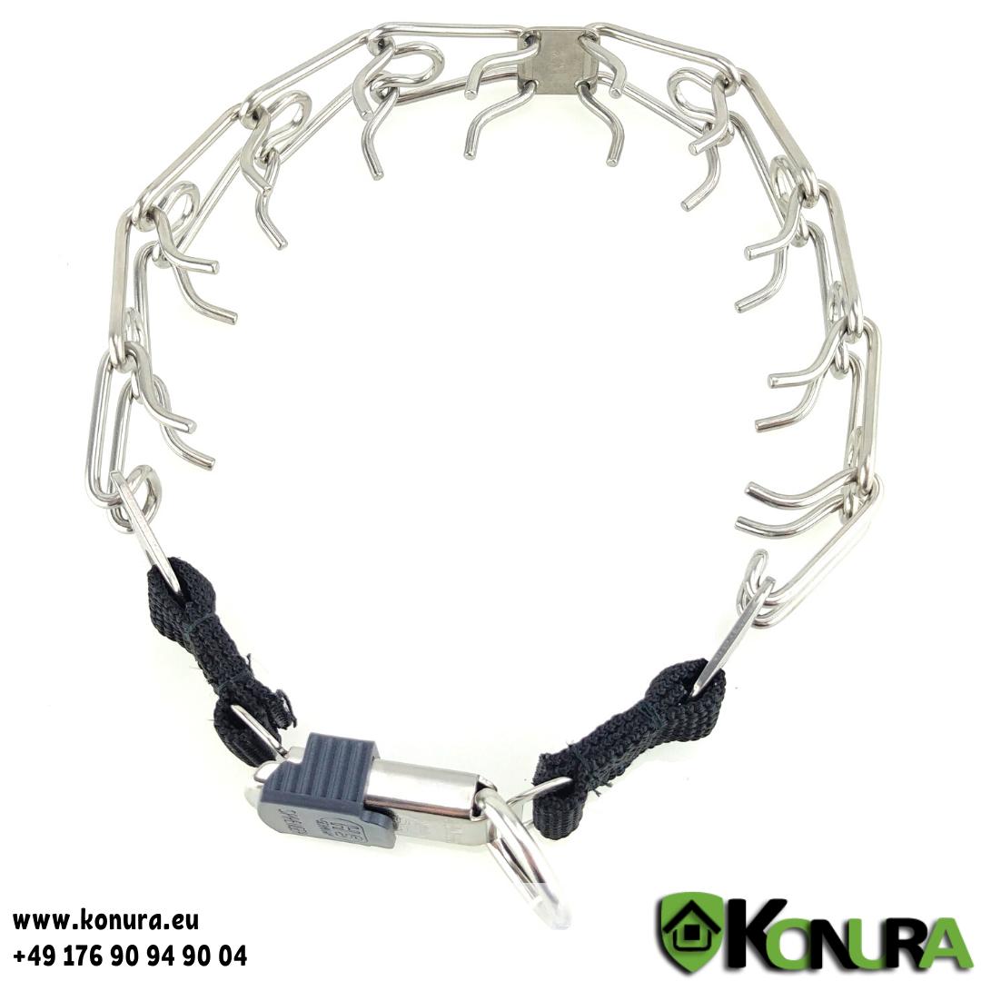 Dressurhalsband ULTRA-PLUS ClickLock mit 1 Ring Sprenger