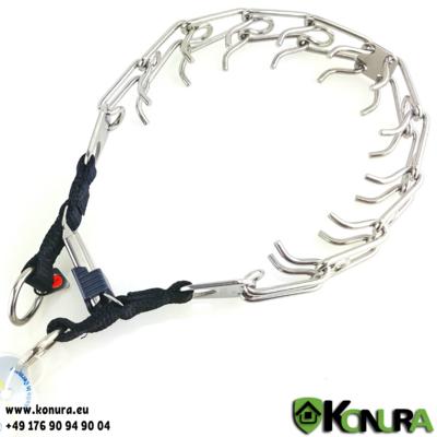Dressurhalsband ULTRA-PLUS ClickLock mit 2 Ringen Sprenger