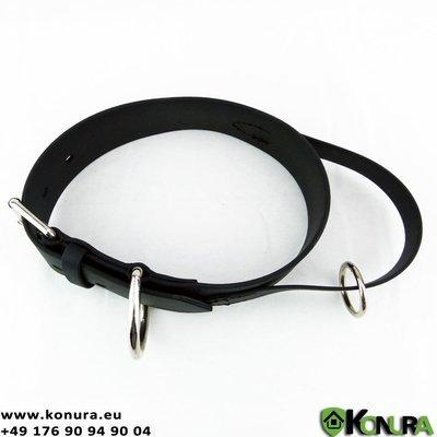 Halsband aus Biothane 50 mm breit mit klassischer Schließe (MIT oder OHNE Schlaufe) Schweikert