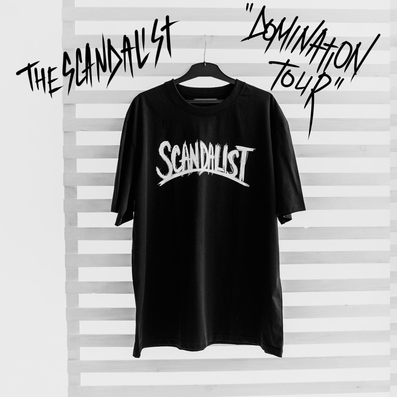 "Футболка The Scandalist ""Domination Tour"""