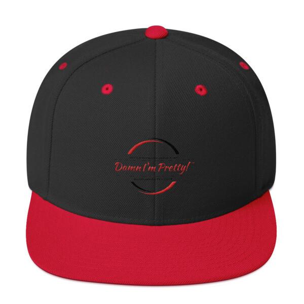 Damn I'm Pretty! Snapback Hat