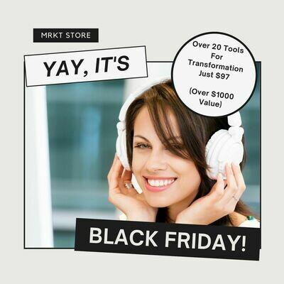 Black Friday Bundle Ends November  29th at Midnight