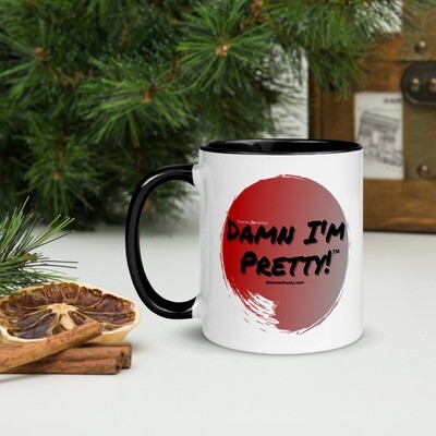Damn I'm Pretty!™ Mug with Color Inside