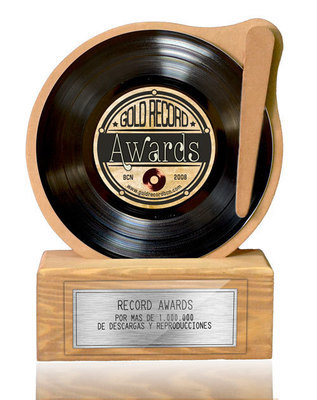 RECORD AWARD BLACK