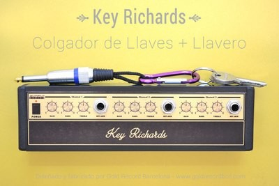 Key Richards - Colgador rack + llavero. (Aluminio)