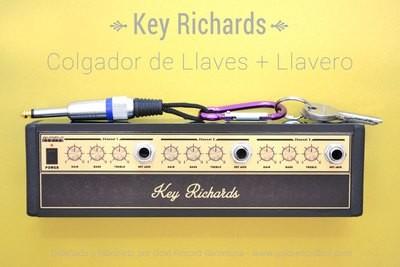 Key Richards - Colgador rack + llavero. (Aluminio)