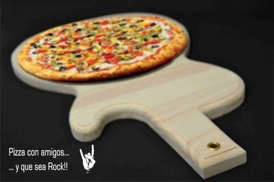 "Tabla para pizzas ""Rock Guitar"""