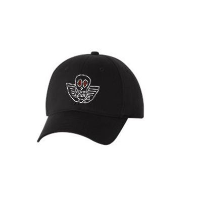 JOE PERRY BONEYARD LOGO BLING CAP