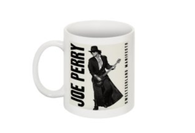 JOE PERRY SWEETZERLAND MANIFESTO  COFFEE MUG CERAMIC