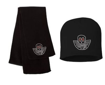JOE PERRY BONEYARD SCARF AND/OR BEANIE