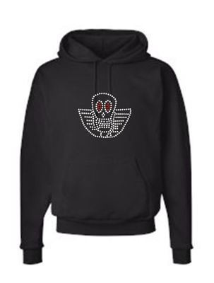 JOE PERRY BONEYARD UNISEX PULLOVER FLEECE HOODIE