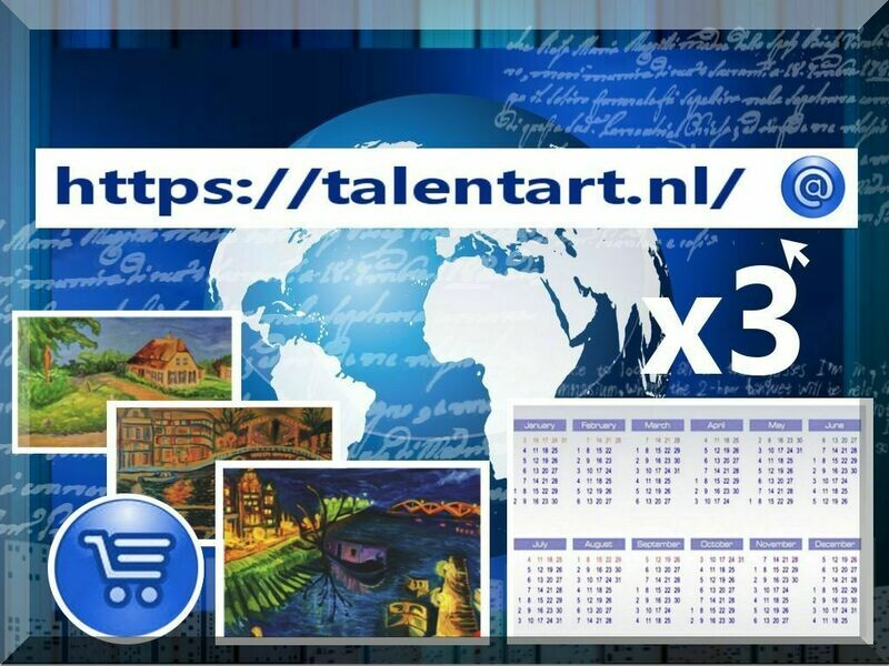 Annual Talent Art Gallery card