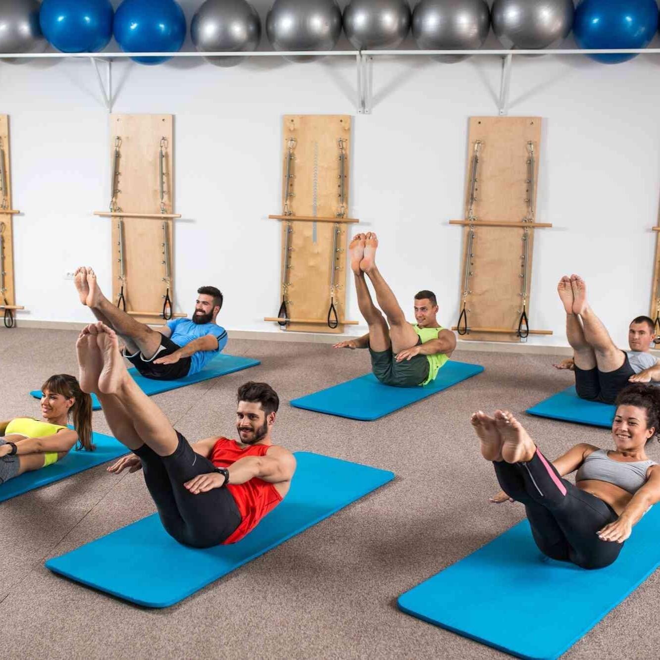 GROUP Virtual Pilates Class
