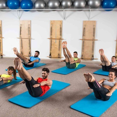 GROUP Virtual Pilates Class
