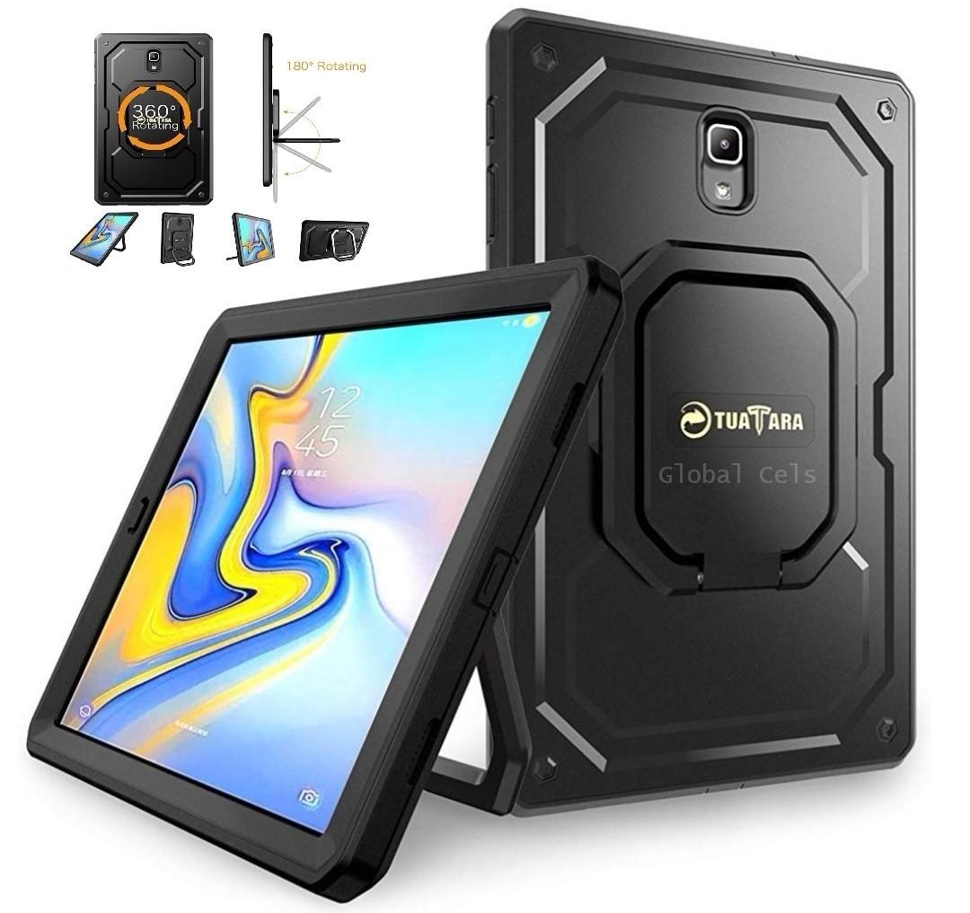 Case Galaxy Tab A 10,5 T590 2018 Armadura c/ Colgador y Parador