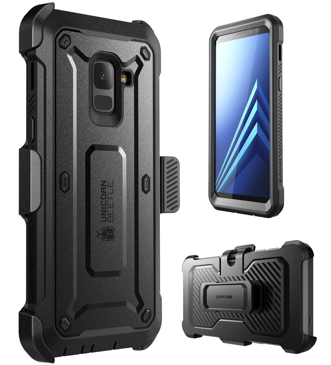 Case Galaxy A8 plus Protector USA Extremo Supcase Armadura