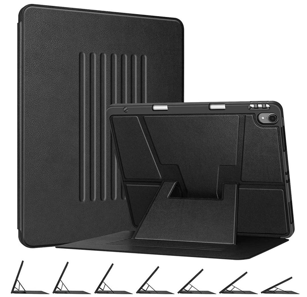 Case Ipad Pro 12.9 2018 3ra Generación A1876 A2014 A1895 Smart Flip Color Negro