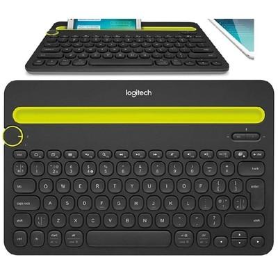 Teclado K480 Logitech con bluetooth para computadoras, tablets y smartphones, Negro