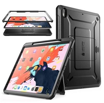 Case Ipad Pro 12,9 2018 3ra Gen c/ Porta Lápiz Super Carcasa 360 Negra