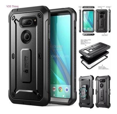 Case LG V35 Thinq LG V30 Plus V30 Protector USA Supcase Armadura Alta calidad