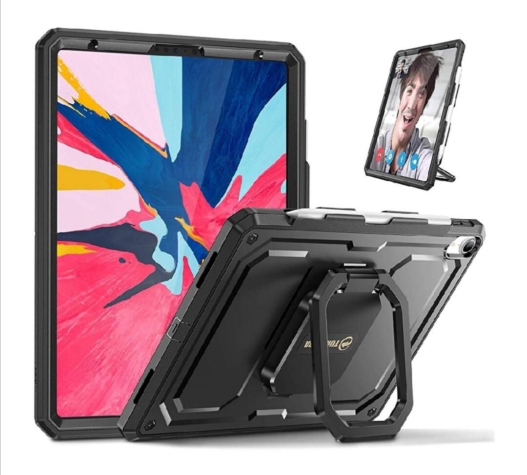 """Case Ipad Pro 11 11,0"""" 2018 Modelos A1876 A2014 y A1895 Super Recio Protector Negro"""