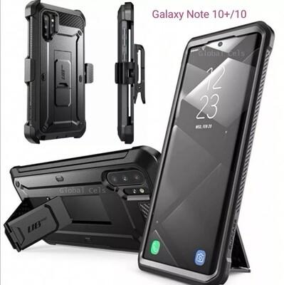 Case Galaxy Note 10 Plus / Note 10 Super Protector c/ Gancho c/ Parador Funda 360°