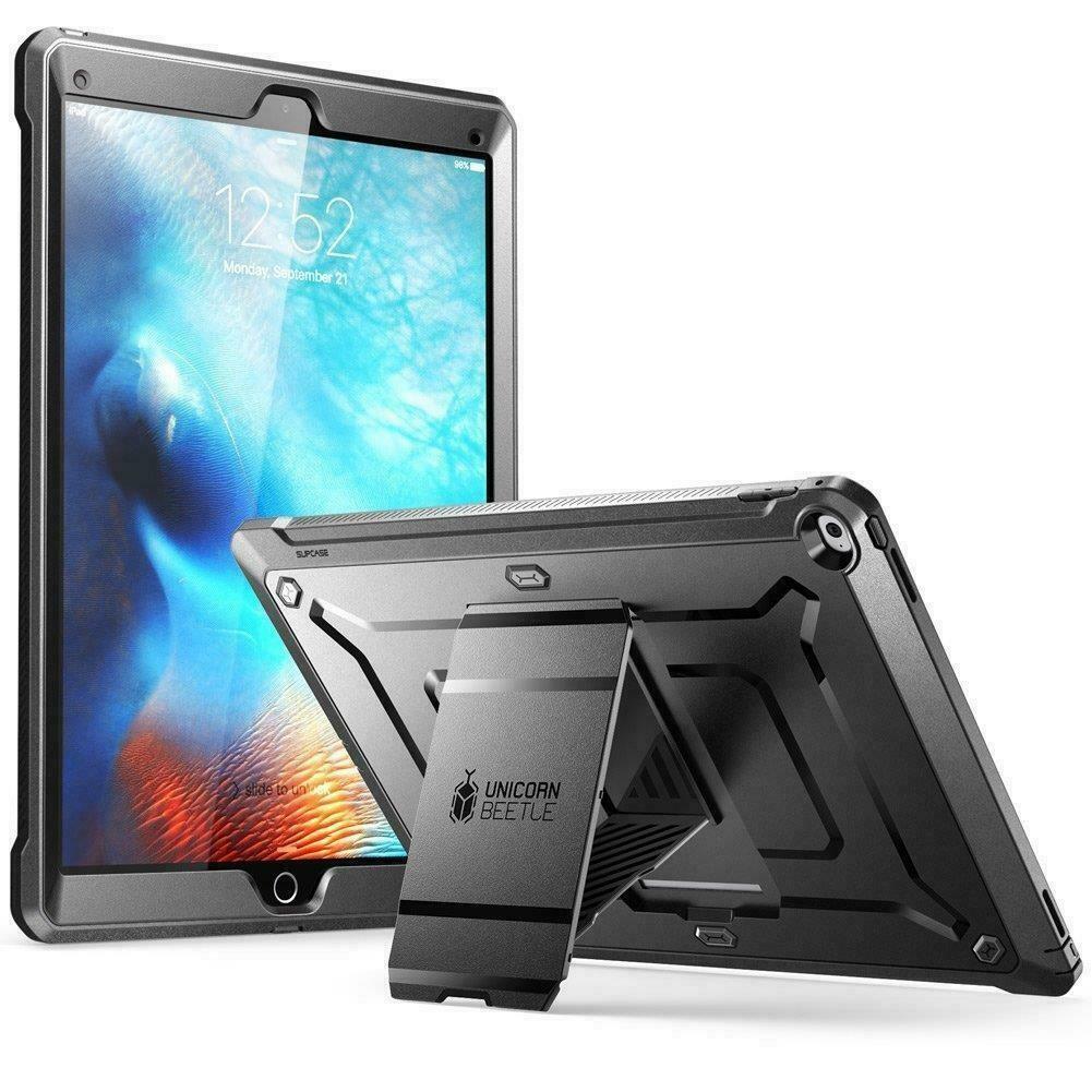 Case Funda Ipad Pro 12.9 pulgadas A1584 A1652 2015 Protector 360° de caídas y golpes - Negro