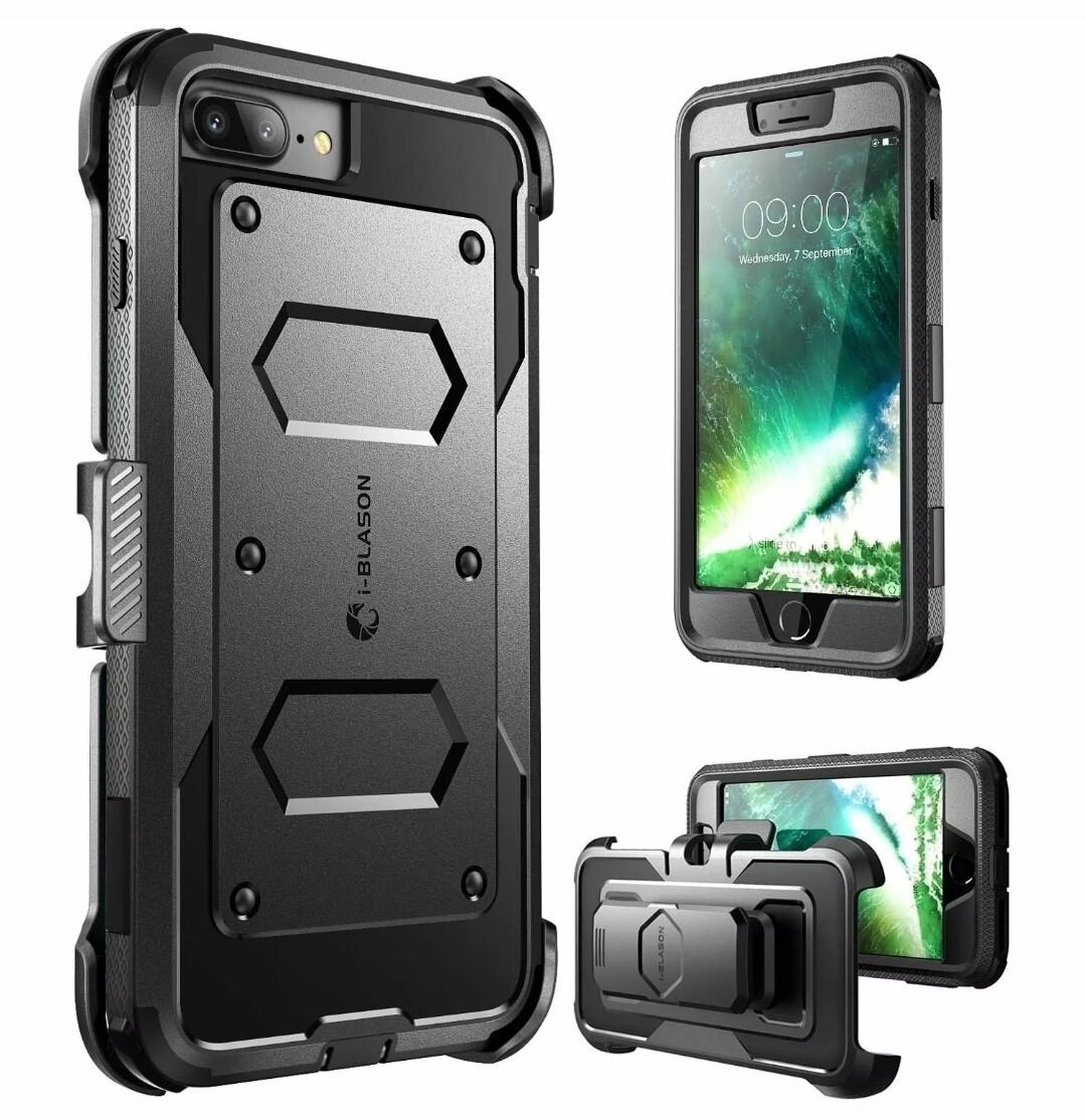 "Case Funda Iphone 8 7 Plus / 8+ 7+ de 5.5"" Protector Armadura I-blason USA"