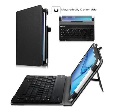 """Case c/ Teclado Bt Galaxy Tab E 9.6"""" T560 Fintie USA - Negro"""