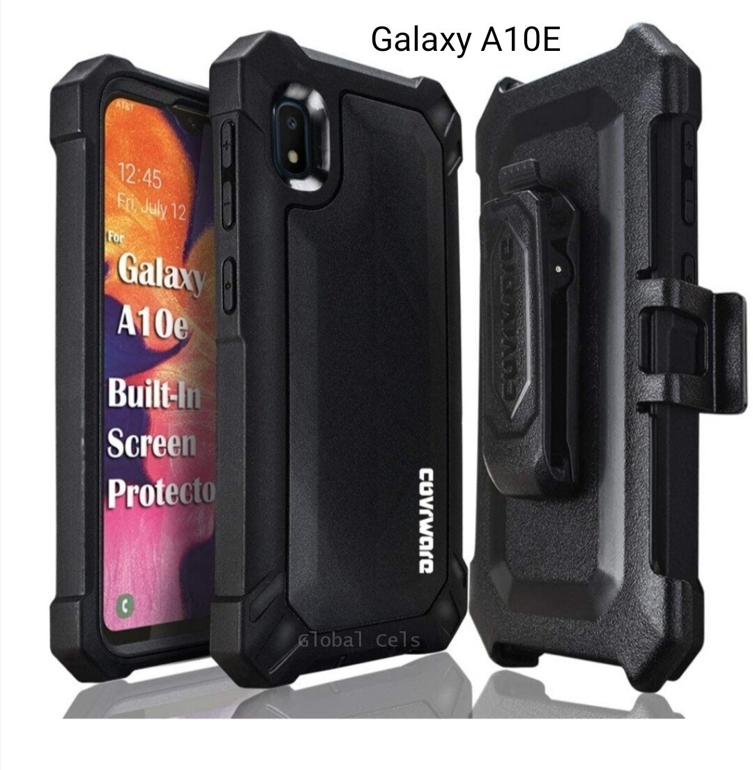 Case Funda Galaxy A10E c/Gancho Recios 360° c/ Mica Integrada