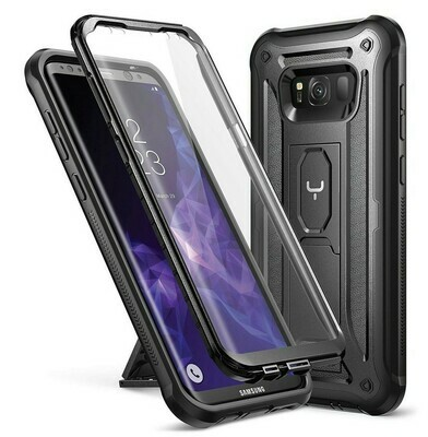 Case Galaxy S8 Plus c/ Parador c/ Mica Integrada Carcasa 360 Negro