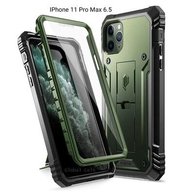 Case Funda IPhone 11 Pro Max / Pro c/ Parador Vert - Horz Recios Verde Militar