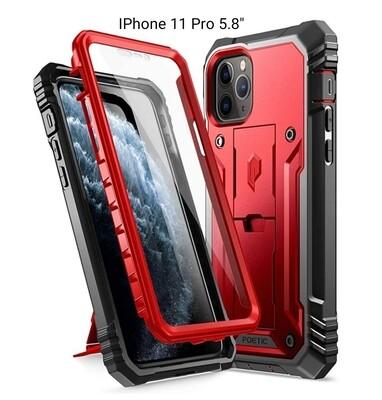 Case Funda IPhone 11 Pro Max / Pro c/ Soporte Vert - Horz Recios Rojo Vino