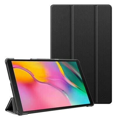 Case Flip Galaxy Tab A 10,1 T510 Magnético c/ Soporte Protector USA Negro