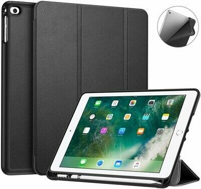 Case Flip IPad 9.7 2018 2017 / iPad Air 2 / iPad Air c/ Porta Pen c/ Función Activar Desactivar