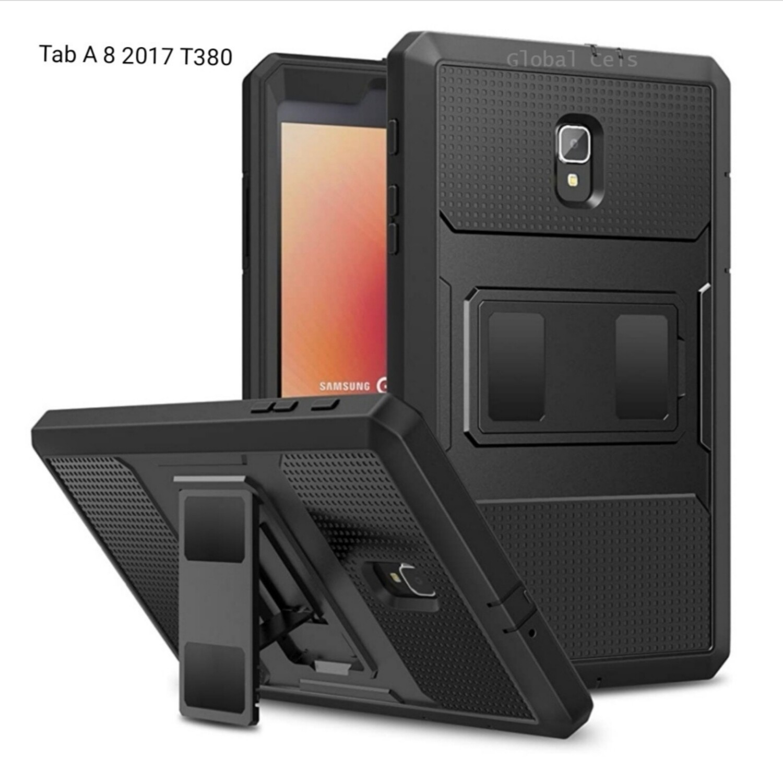 Case Galaxy Tab A 8,0 2017 c/Parador T380 / T385 Recio - Negro