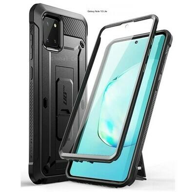 Case Protector Galaxy Note 10 Lite Extremo c/ Gancho Correa c/ Mica Integrada