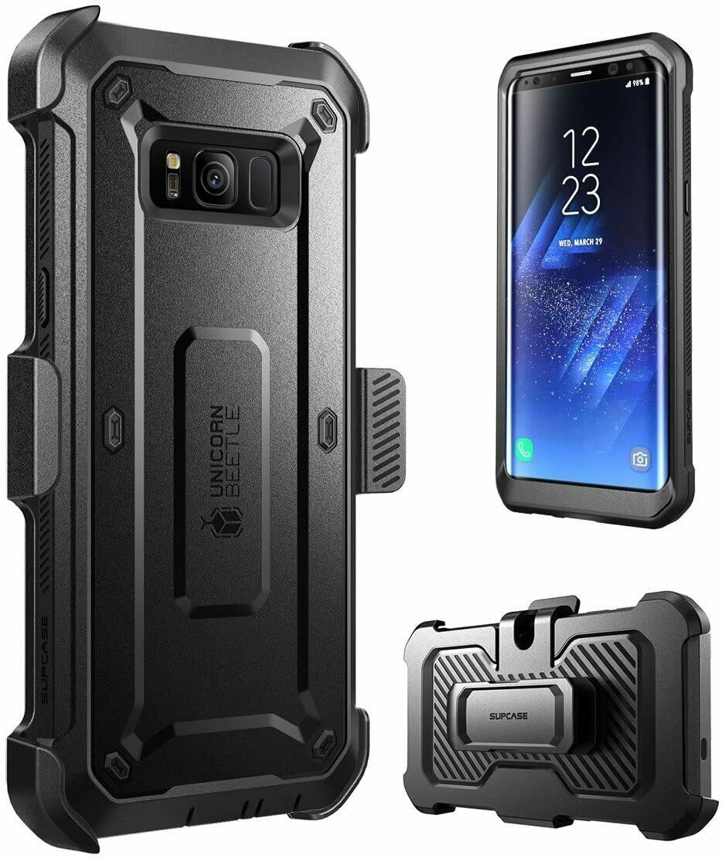 Case Supcase Galaxy S8 Normal Extremo Protector 360 c/ Gancho