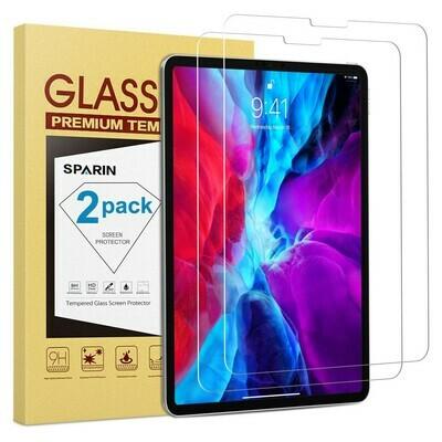 Vidrio Templado iPad Pro de 12,9 pulgadas 2020 / 2018, 2-Pack 4ª y 3ª Gen cristal templado