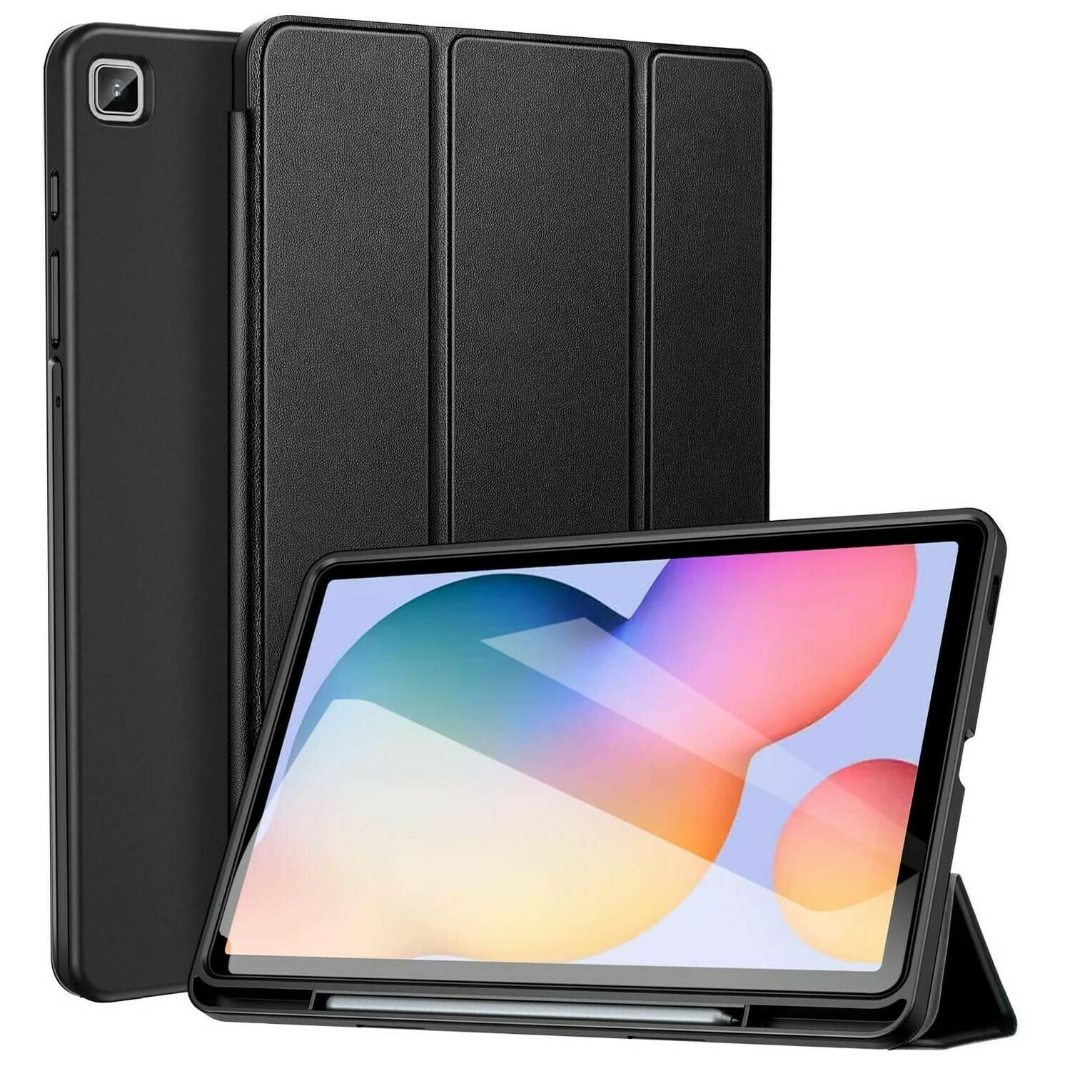 Funda Flip Samsung Galaxy Tab S6 Lite 10.4 SM-P610/P615 Tapa Magnética c/ Porta Lápiz Interno