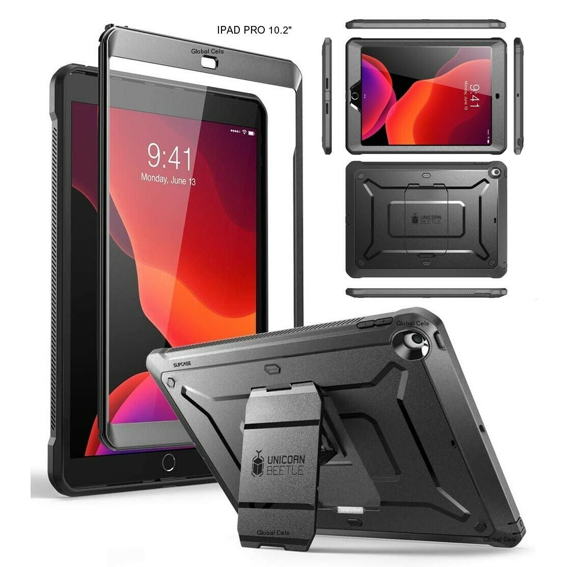 """Case iPad 10,2"""" 7ma Gen 2019 A2197 A2198 A2200 Protector 360° © Apoyo"""