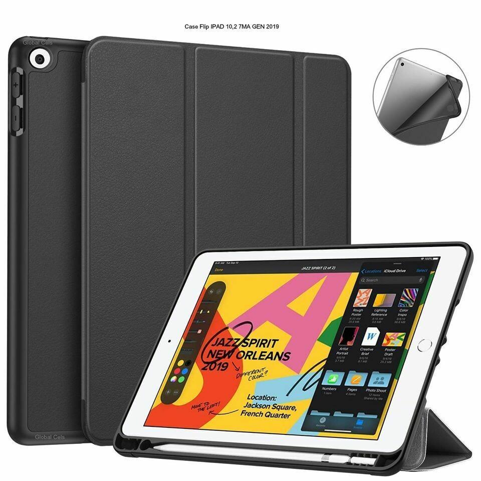 """Case Ipad 10.2"""" Ipad 7 Ipad 8 de 7ma 8va Gen 2019 2020 Smart Flip Cover Magnetico"""