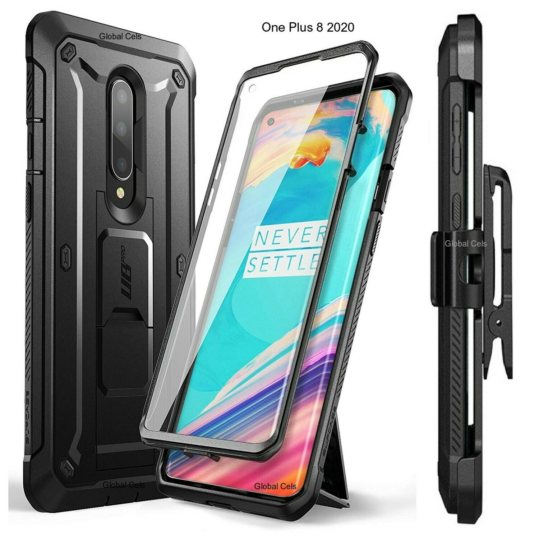 Case Protector OnePlus 8 c/ Gancho c/ Mica c/ Parante
