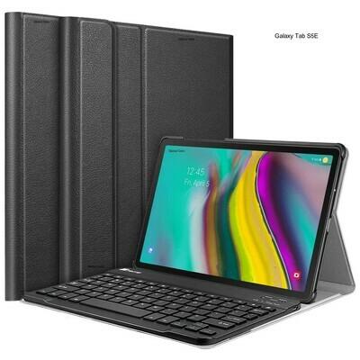Case c/ Teclado Galaxy Tab S5e SM-T720 2019 Bluetooth Fintie USA - Negro