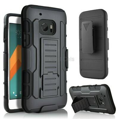 Case Funda HTC 10 / Htc One M10 holster Gorila Armor + parante + gancho