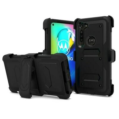 Funda Motorola Moto G8 Power Case híbrido Resistente con MIca