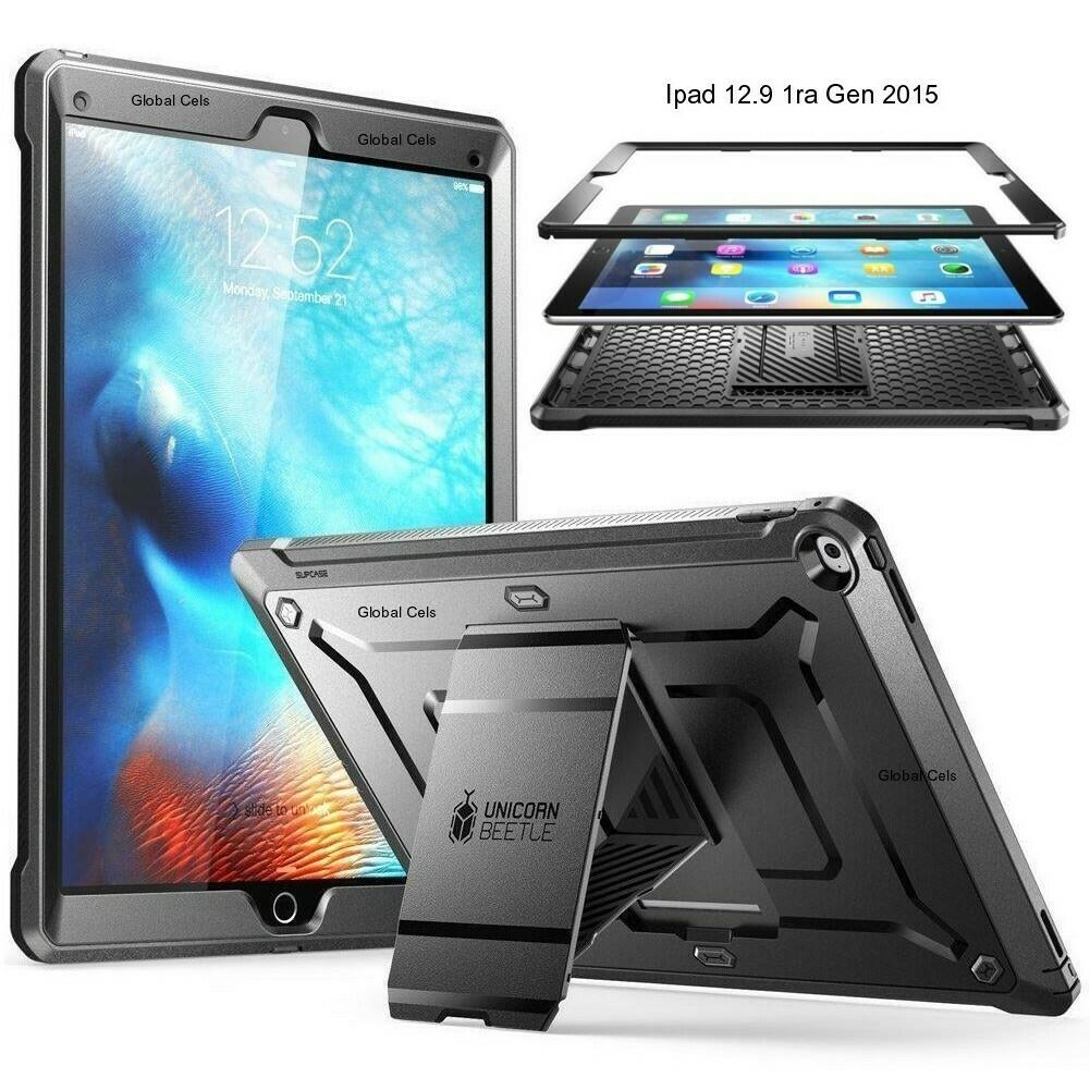 Case Protector iPad Pro 12,9 pulgadas Apple 2015 A1584 Recios - Negro