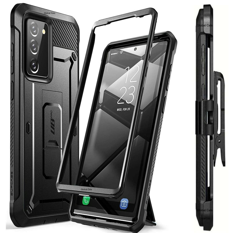 Case Protector Galaxy Note 20 Funda Recia c/ Mica c/ Gancho Correa c/ Apoyo