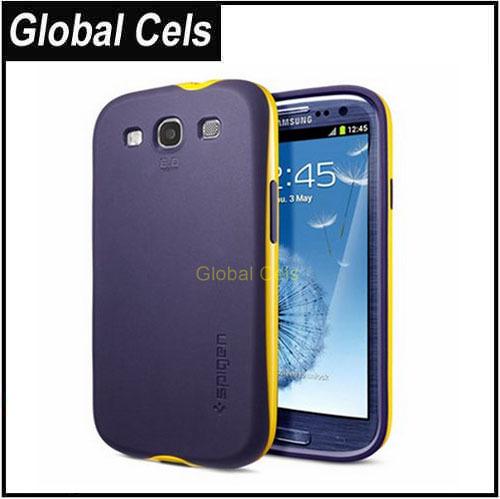 Carcasa Case Estuche Funda Samsung Galaxy S3 de Marca SGP en Materiales TPU + PC especiales