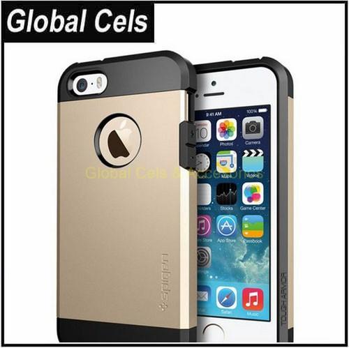 Carcasa Iphone 4,4S de Armadura Oro Case de Alta Precisión